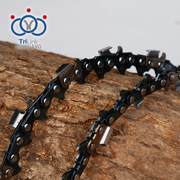 Different Types of Electricity Spare Parts Steel Chain For Chainsaw